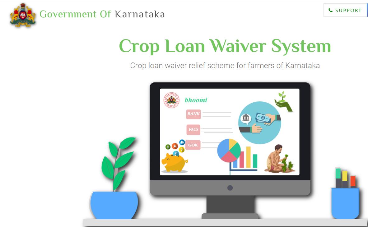 karnataka crop loan mafi list