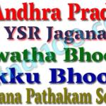 """YSR Jagananna Bhoomi Hakku Bhoomi Rakshana Pathakam""""for Survey of Lands"""