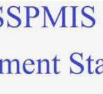 "SSPMIS Payment Status 2021""Panchayat Wise Report"