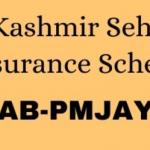 "Jammu Kashmir SEHAT Health Insurance Scheme""health insurance scheme registration"