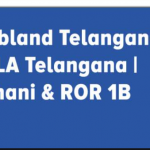 "Webland Telangana: Online Land Record""@ ccla.ap.gov.in telangana"