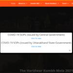 "Haridwar Kumbh Mela 2021|Registration Portal""starting date"