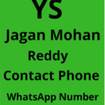 YS Jaganmohan Reddy Phone Number|Contact Number, Whatsapp Number,