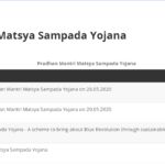 Pradhan Mantri Matsya Sampada Yojana 2021|Registration:Application Form