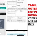 Tamil Nadu Voter List 2021@ elections.tn.gov.in 2021:TN Voter List With Photo