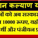 Mukhyamantri kisan Kalyan Yojana List:-cm kisan.gov.in status check