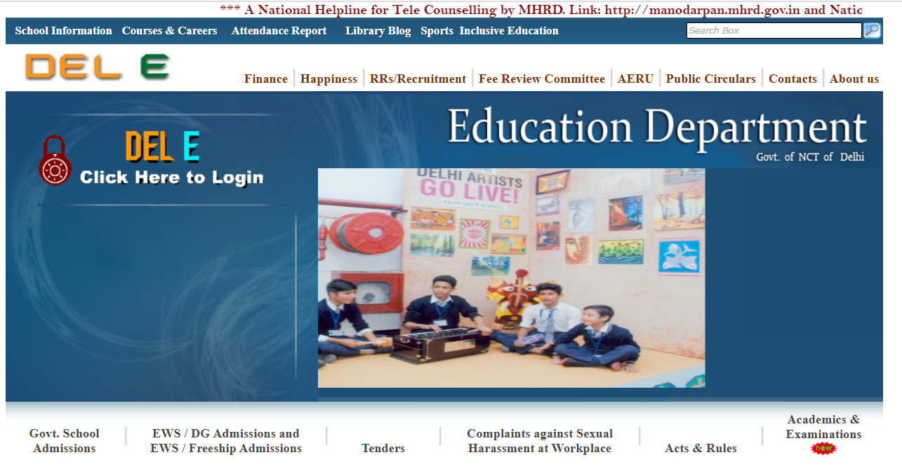 Delhi Nursery admission 2021 EWS/DG Admission Online